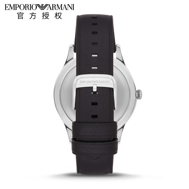 Emporio Armani阿玛尼男表 休闲商务指针表防水皮带男表AR11020