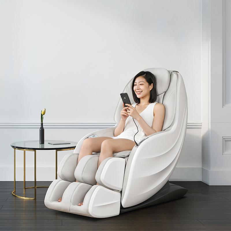 摩摩哒按摩椅家用全身自动小型多功能电动太空舱按摩沙发躺椅5859