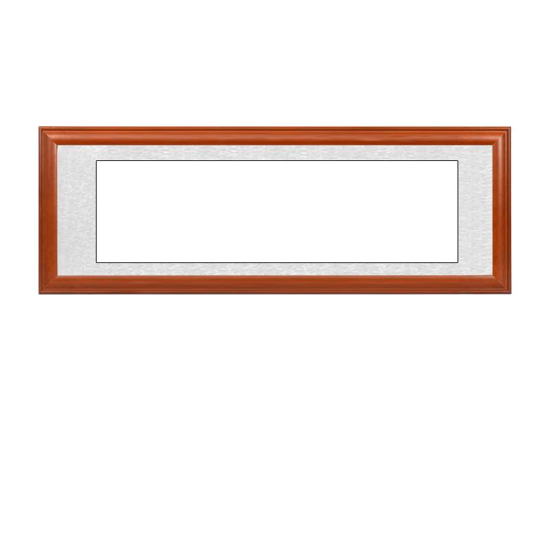 【送空白鏡片】書法作品裝裱木框 實木畫框 裝飾字畫相框可定制