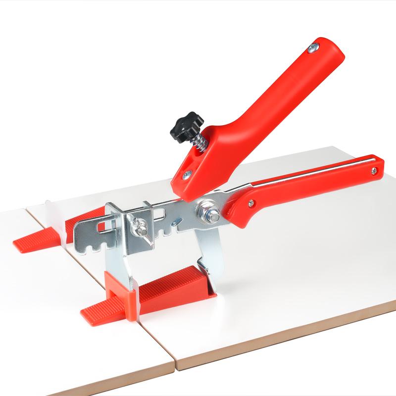 瓷砖找平器塑料卡子定位器瓦工贴墙砖瓷砖工具平整器十字架调平器