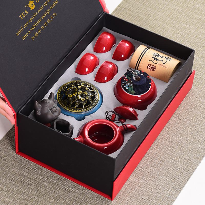 创意礼品套装企业公司房地产开业年会活动伴手礼品定制logo送客户