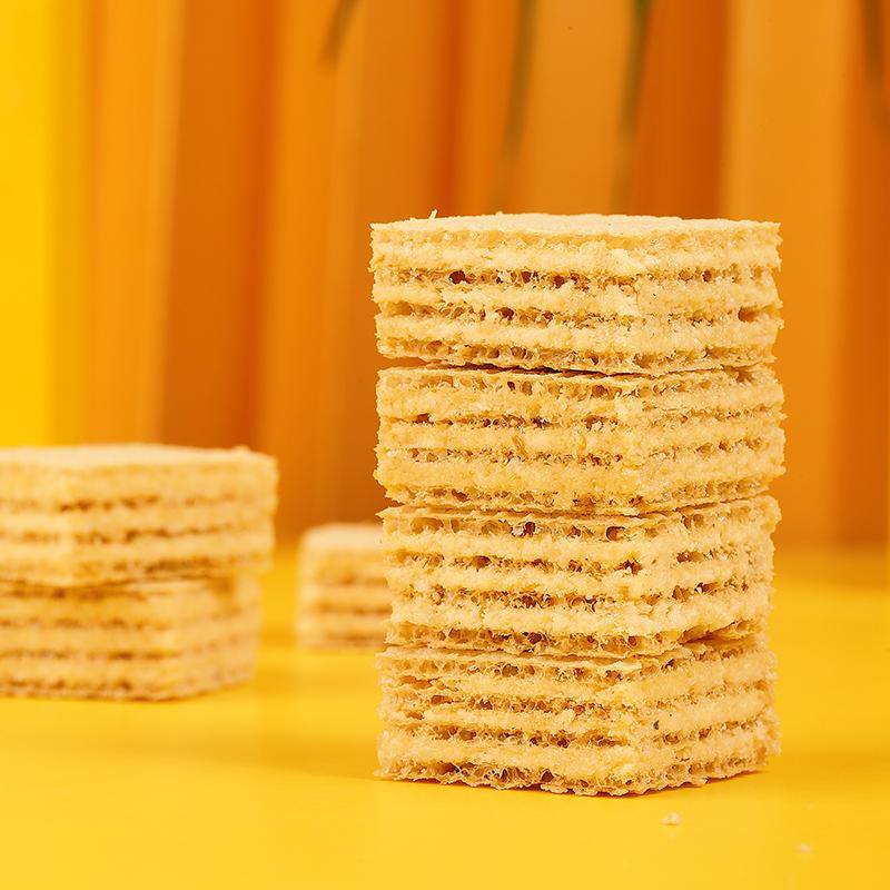 慕方豆乳威化饼干网红零食夹心日式下午茶点心休闲小吃食品饼干