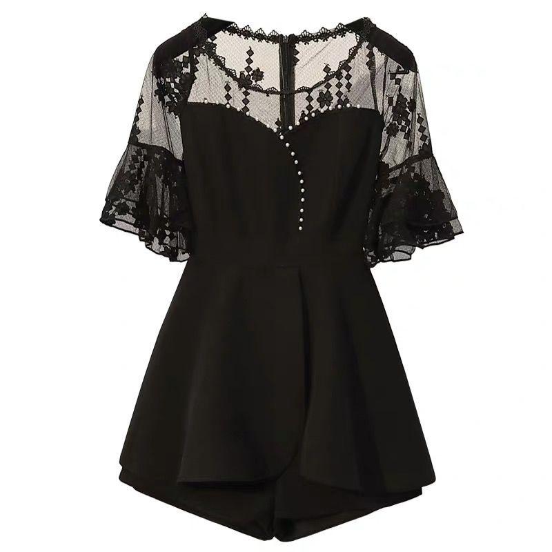 新款显瘦套装大码两件套连衣裙