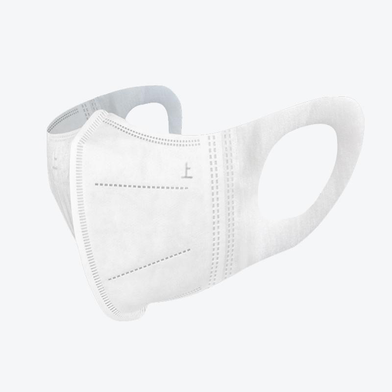 3D口罩一次性三层医用防护透气防尘男士女性儿童医疗白色立体口罩