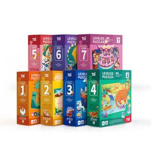 TOI图益儿童进阶益智拼图大块宝宝幼儿玩具男孩女孩1-2-3-4-5-6岁