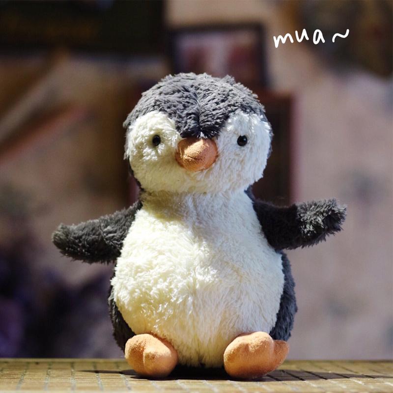 企鹅小公仔毛绒玩具翟潇闻可爱狐狸丑萌猪玩偶布娃娃女孩生日礼物