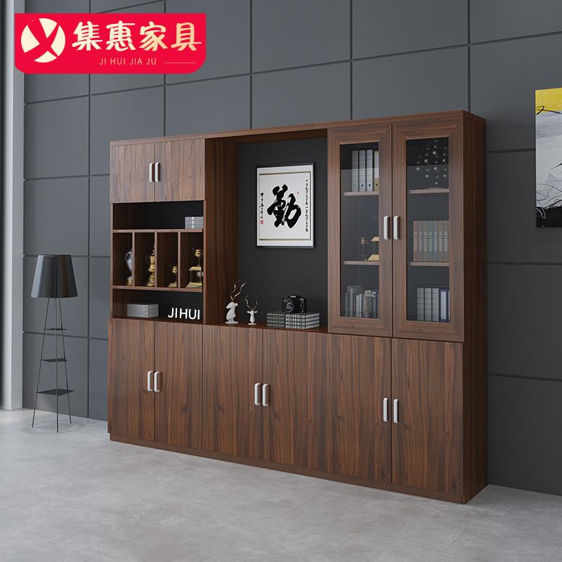 辦公文件柜木質資料柜檔案柜辦公室辦公桌柜儲物柜辦公家具展示柜