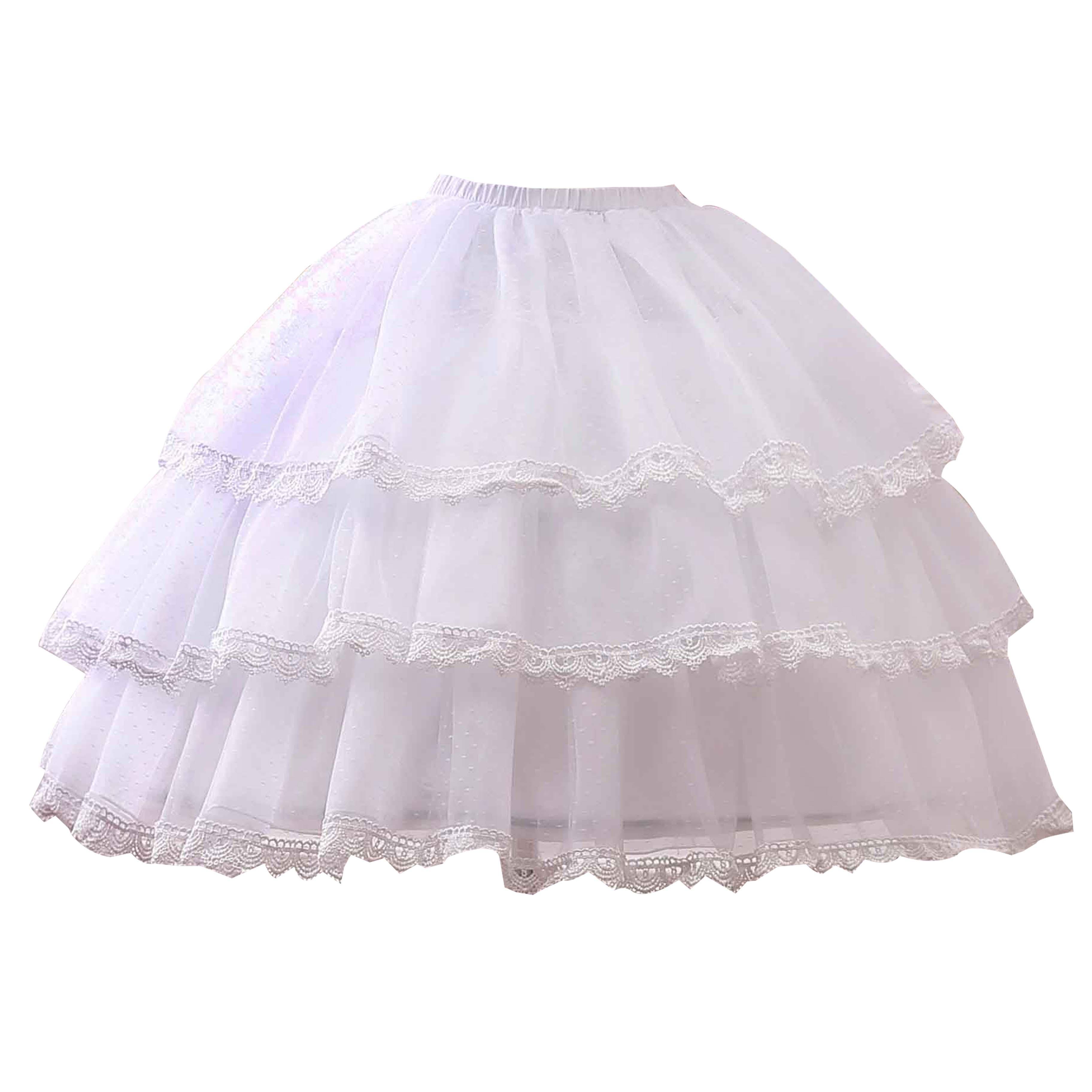魔法裙撑lolita暴力鱼骨撑日常软纱撑洛丽塔卡门半身裙内搭可调节