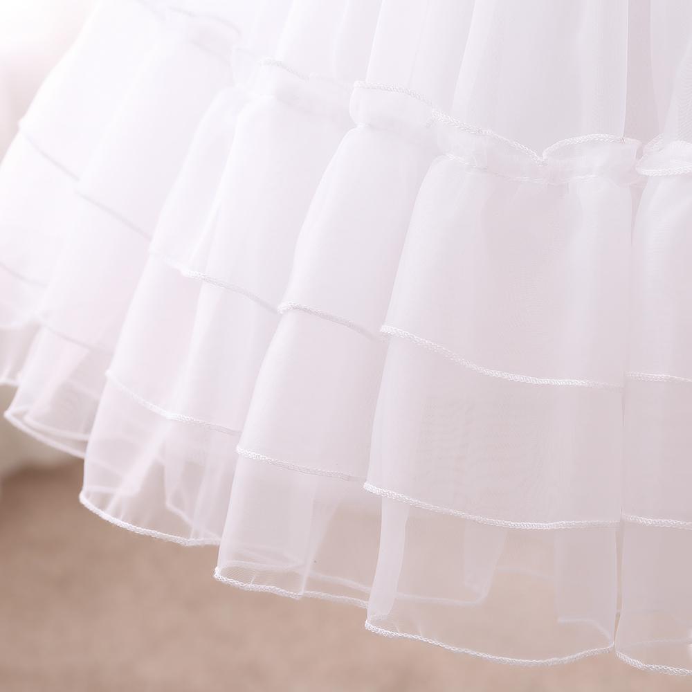洛丽塔裙撑lolita日常暴力无骨撑白色水晶软纱蓬蓬裙半身裙软妹裙