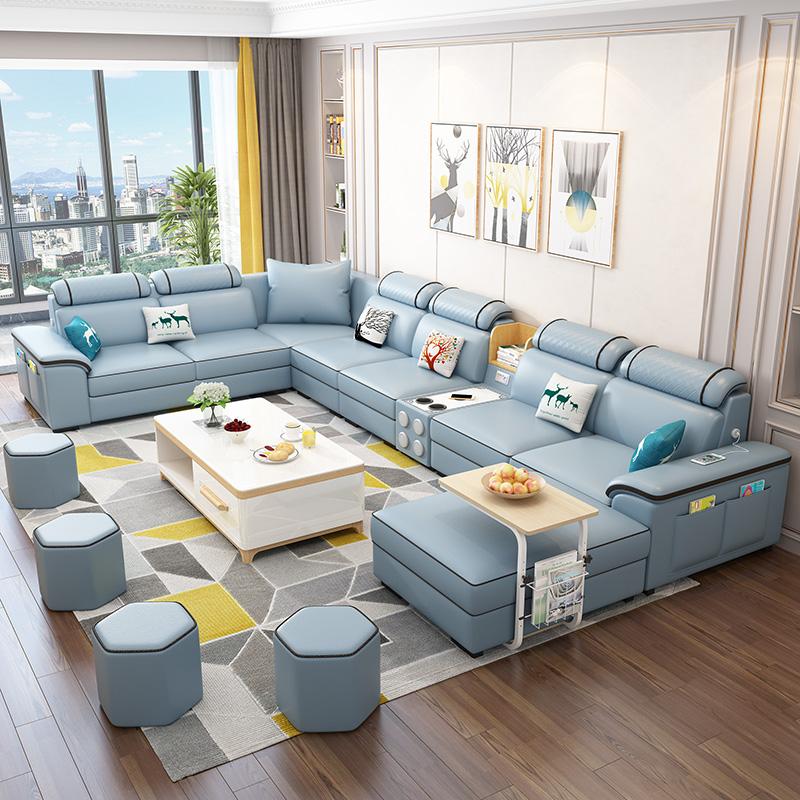 胶布沙发客厅整装家具