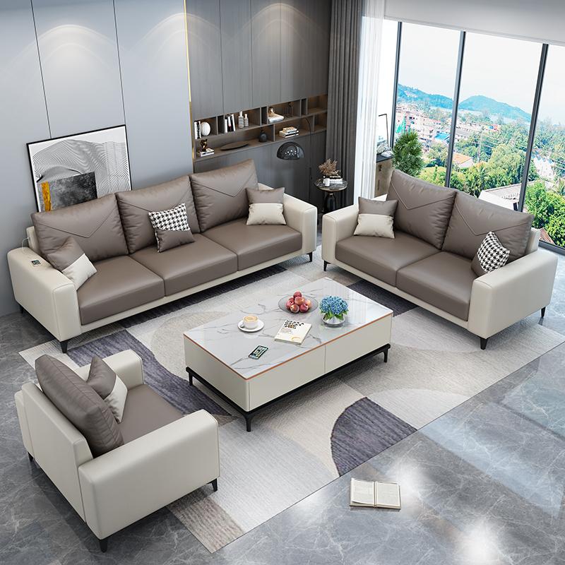 3科技布乳胶轻奢沙发