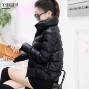 冬季皮尤PU皮棉衣女短款2018新款韩版学生加厚小棉袄子棉服外套女