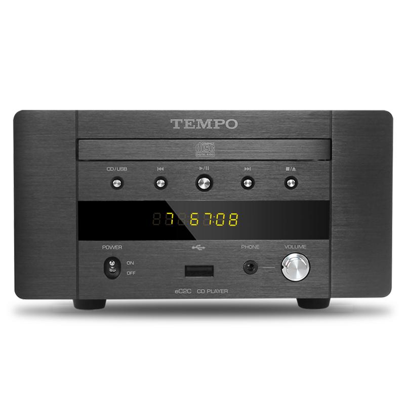 山灵韵律 EC2C HIFI发烧CD机 USB声卡 耳放迷你桌面音响 CD转盘