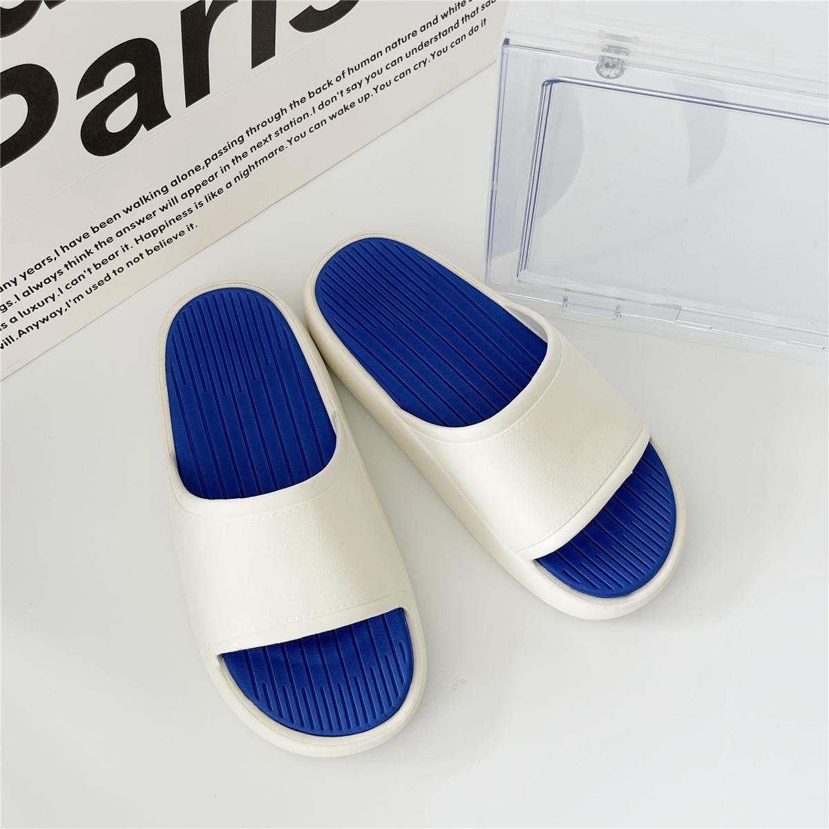踩屎感拖鞋女夏季外穿厚底时尚不臭脚软底新款沙滩凉拖鞋女 PYGTL