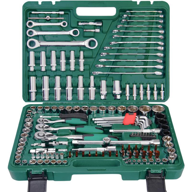 鑫瑞套管汽修套筒扳手套装快速棘轮修车工具多功能套汽保轮胎拆卸