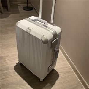 行李箱女网红ins潮新款铝框拉杆箱皮箱子24寸旅行箱28男22小型20