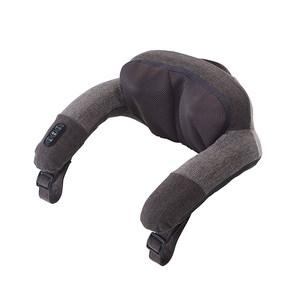 日本atex颈椎按摩器 颈部腰部肩背部腰椎全身多功能无线按摩枕头