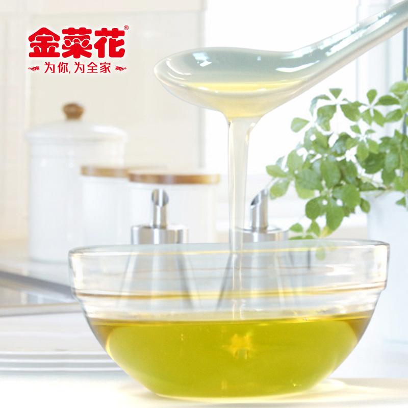 金菜花云南核桃菜籽食用调和油5L非转基因物理压榨核桃油植物油