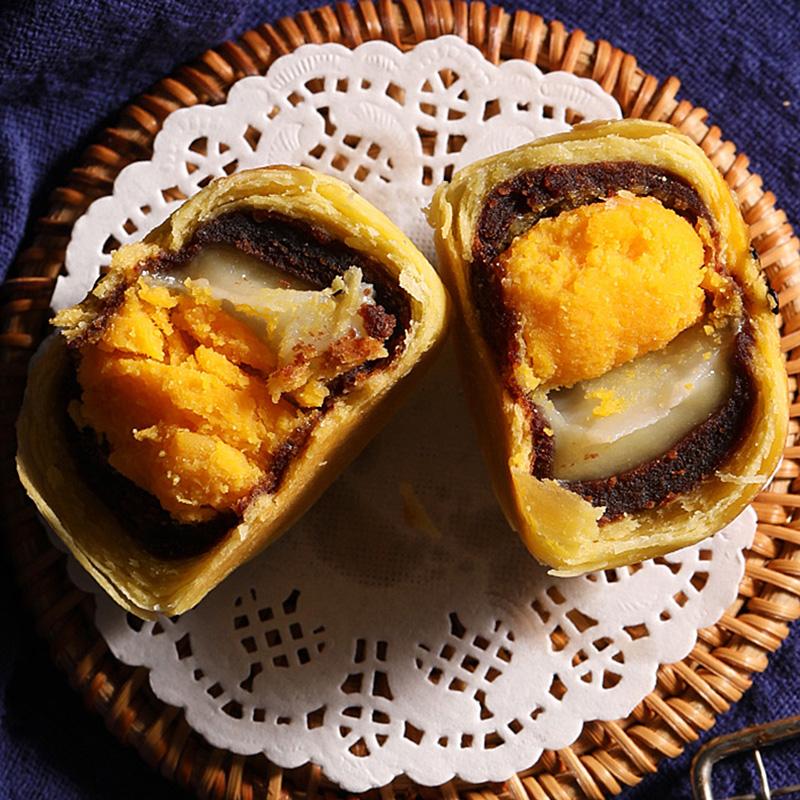 【爆卖552万颗】a1蛋黄酥6枚雪媚娘麻薯网红糕点零食特产梵高礼盒