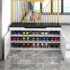 Shoe changing stool, shoe cabinet, shoe stool, marble shoe rack for entering the door, storage and storage, household shoe stool