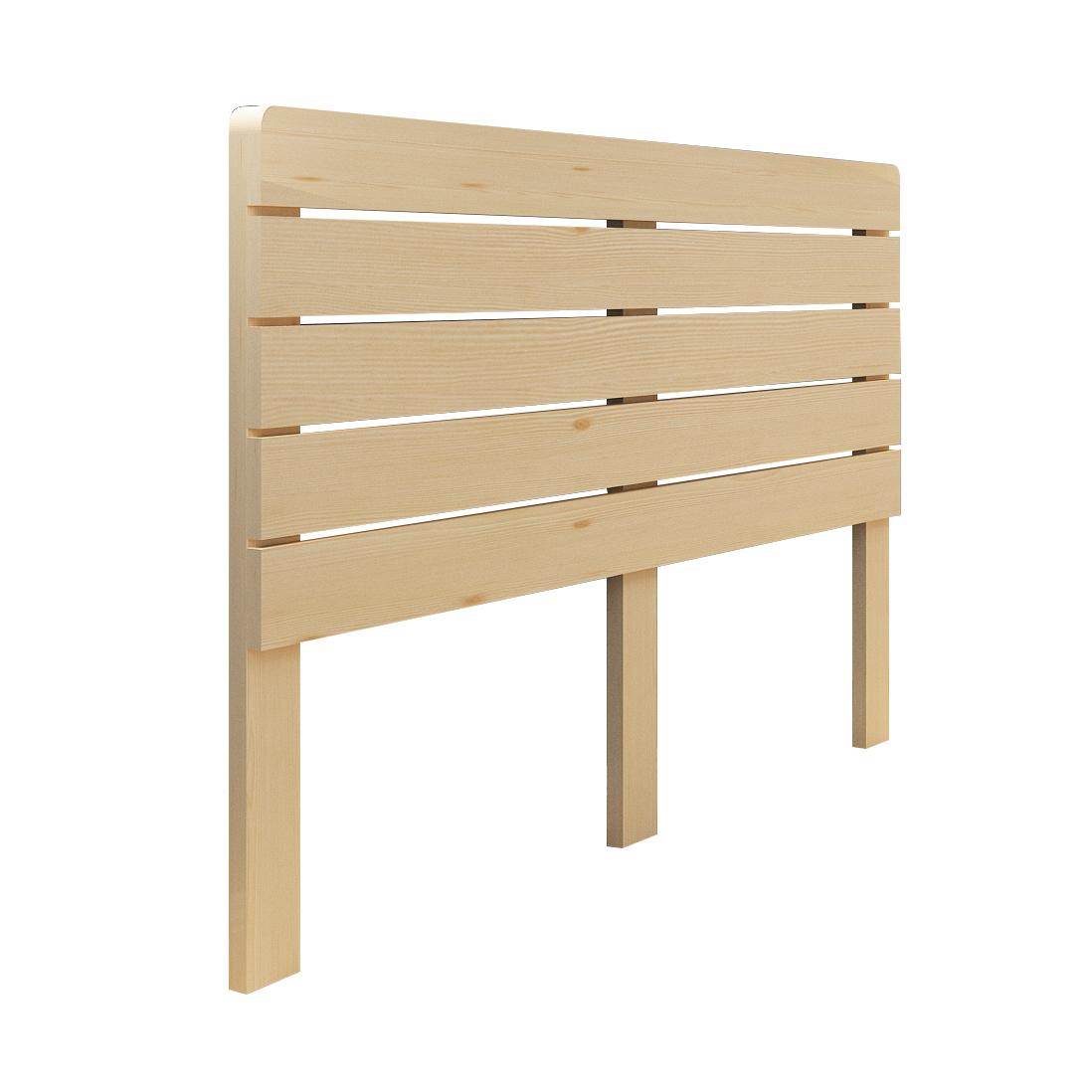 現代簡約實木床頭板原木雙人床榻榻米歐式松木兒童靠背板經濟型