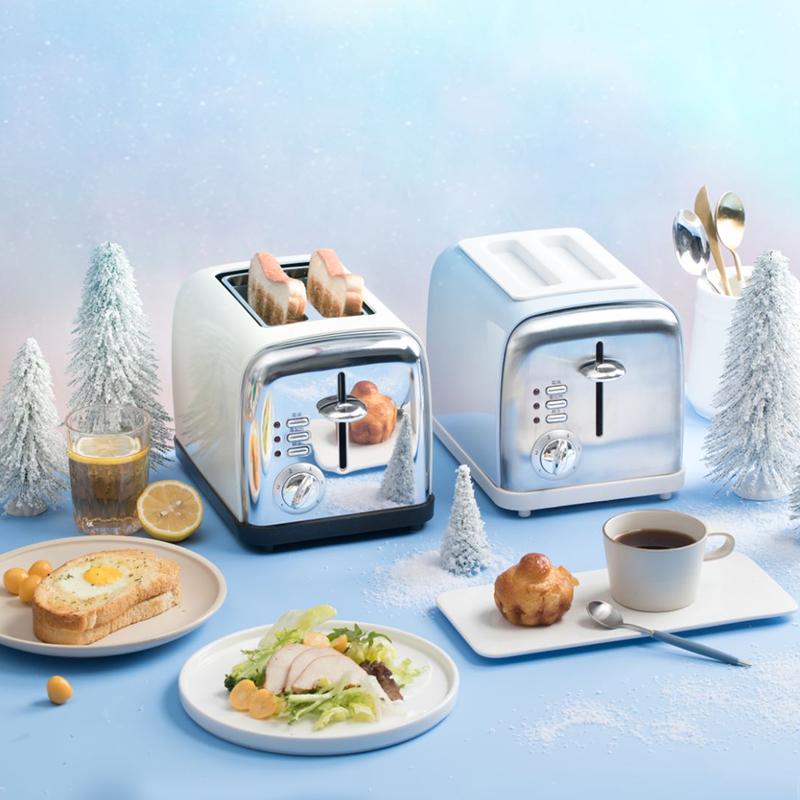 网易严选复古土司多士炉吐司机烤面包机复古造型家用全自动早餐机主图