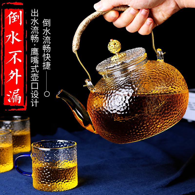 玻璃泡茶壶家用套装耐热高温电陶炉