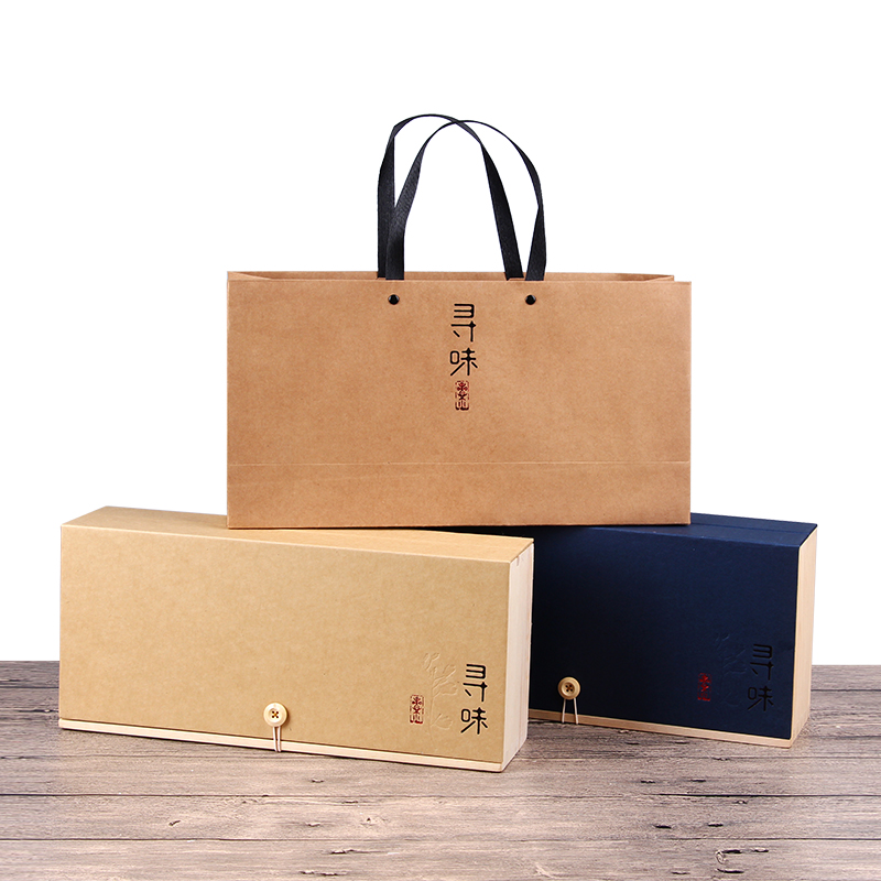 春茶金駿眉大紅袍綠茶包裝盒紅茶茶葉盒子鐵觀音茶葉包裝盒空禮盒