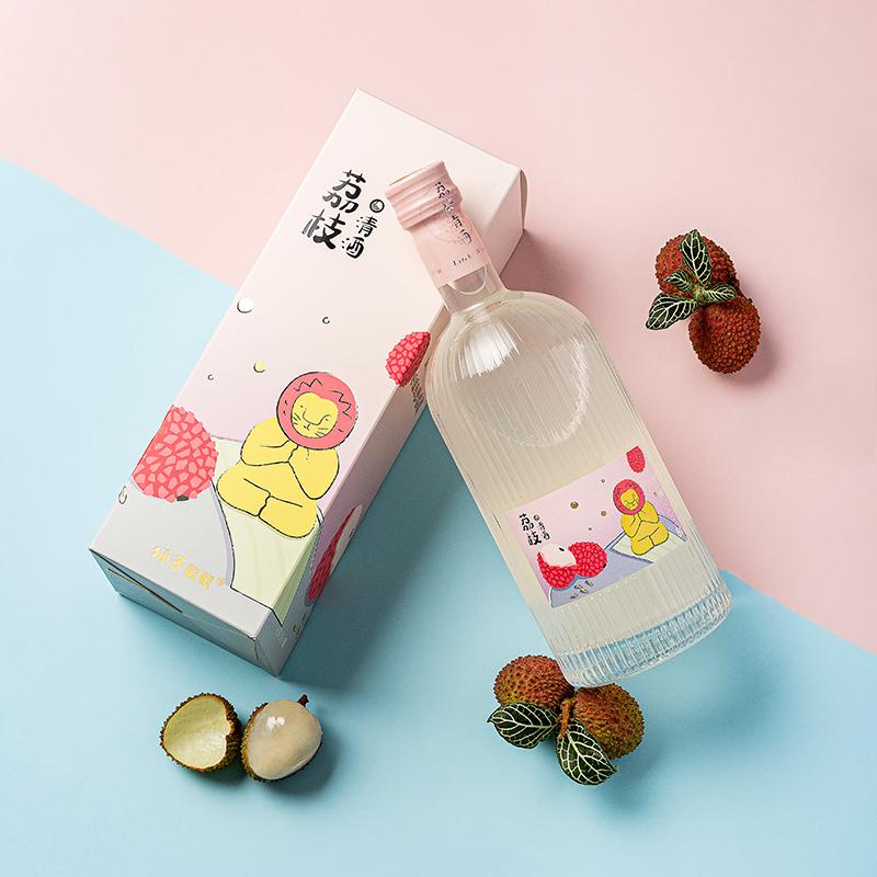 4 支 预售 狮子歌歌荔枝酒柚子酒青熟梅子酒女士果酒甜酒 6.17