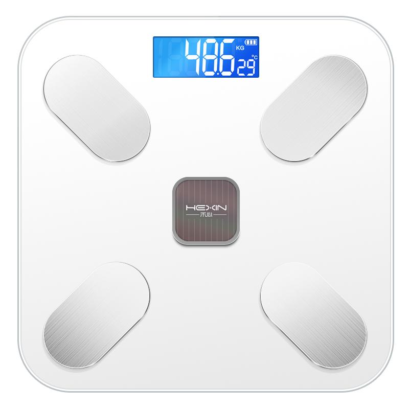 智能体脂称电子体重秤家用人体充电精准女生宿舍小型称重测脂肪秤