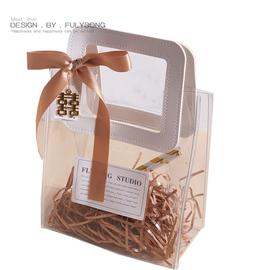 鼠年PVC喜糖盒结婚礼ins伴手礼盒伴娘空盒高档袋透明盒子小礼品袋