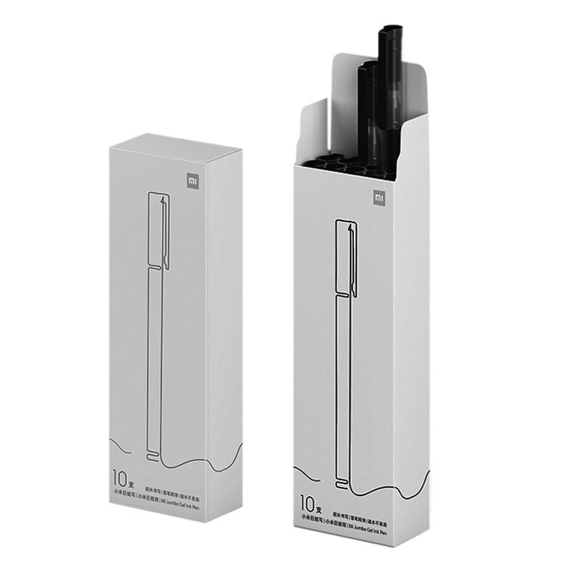 MI 小米 巨能写中性笔 0.5mm 10支装 9.9元包邮