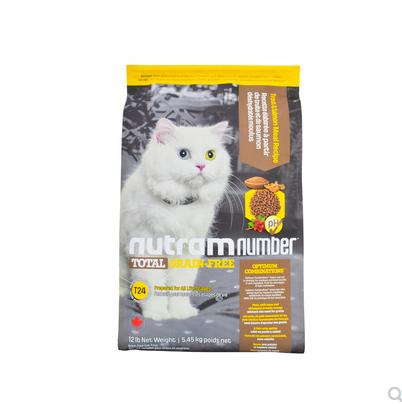 纽顿猫粮T24 T22 1.5kg 5.45kg无谷成猫幼猫加拿大进口天然<a href=