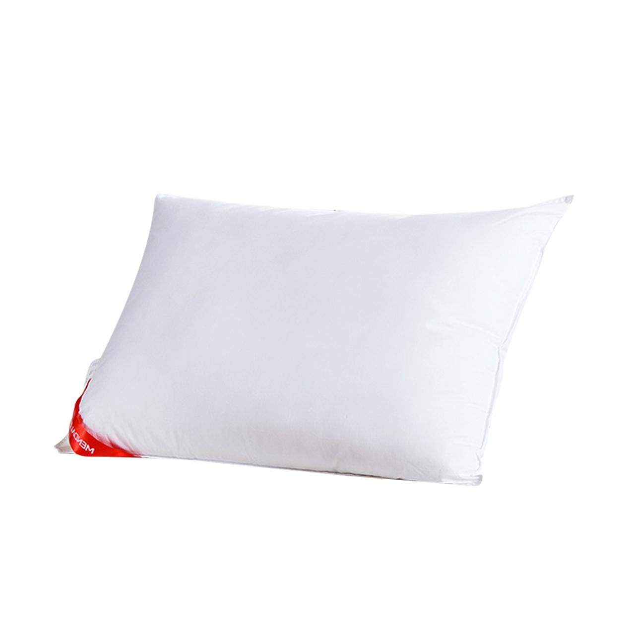 梦洁家纺羽丝绒枕头芯成人护颈枕单人颈椎枕家用助睡眠长款