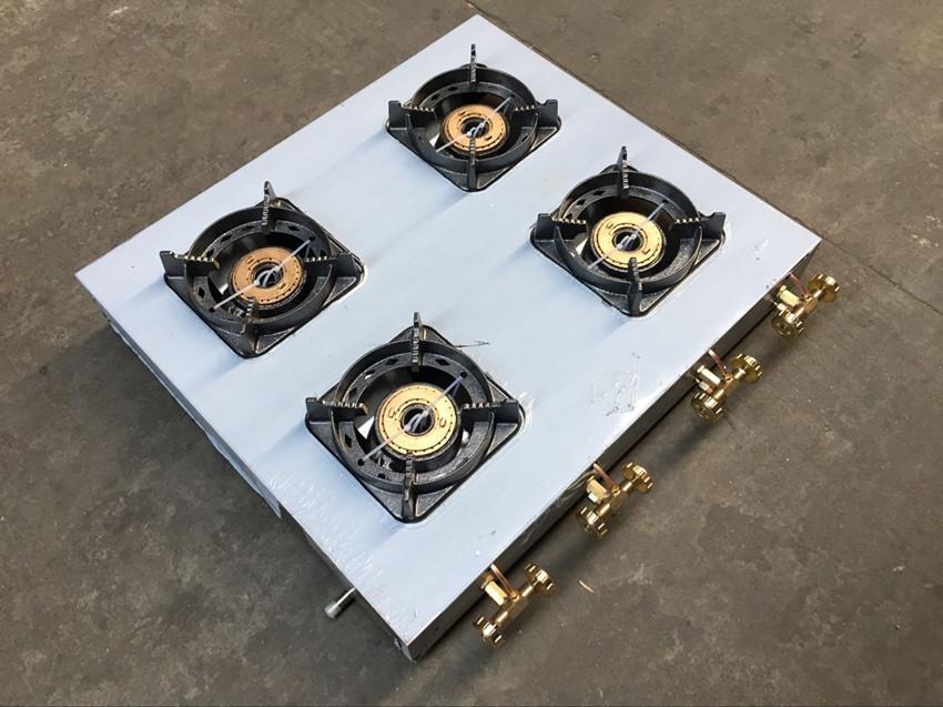 包邮多眼商用液化气中压煲仔炉猛火砂锅燃气灶二三四六多头啫啫炉