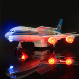 China Southern Airlines aircraft model simulation alloy model aircraft aviation a380 double off toy Children's Day
