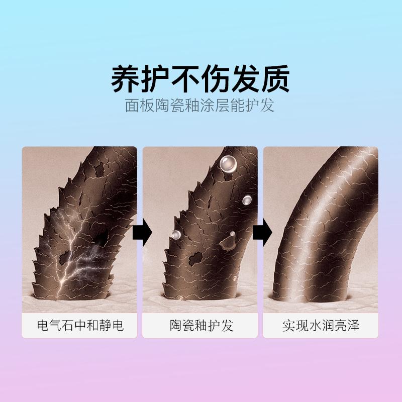 韩国unix卷发棒夹板直发卷发两用刘海迷小型熨板卷发烫发不伤发女