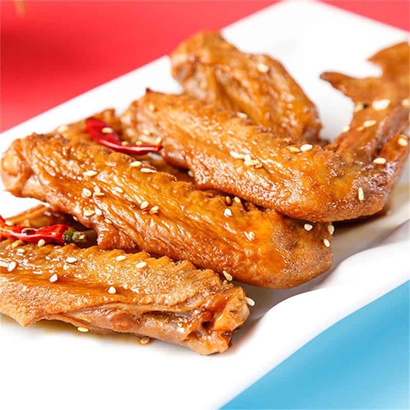 鲁丫头麻香辣鸭锁骨卤酱鸭脖子套餐真空小吃包装零食即食山东特产