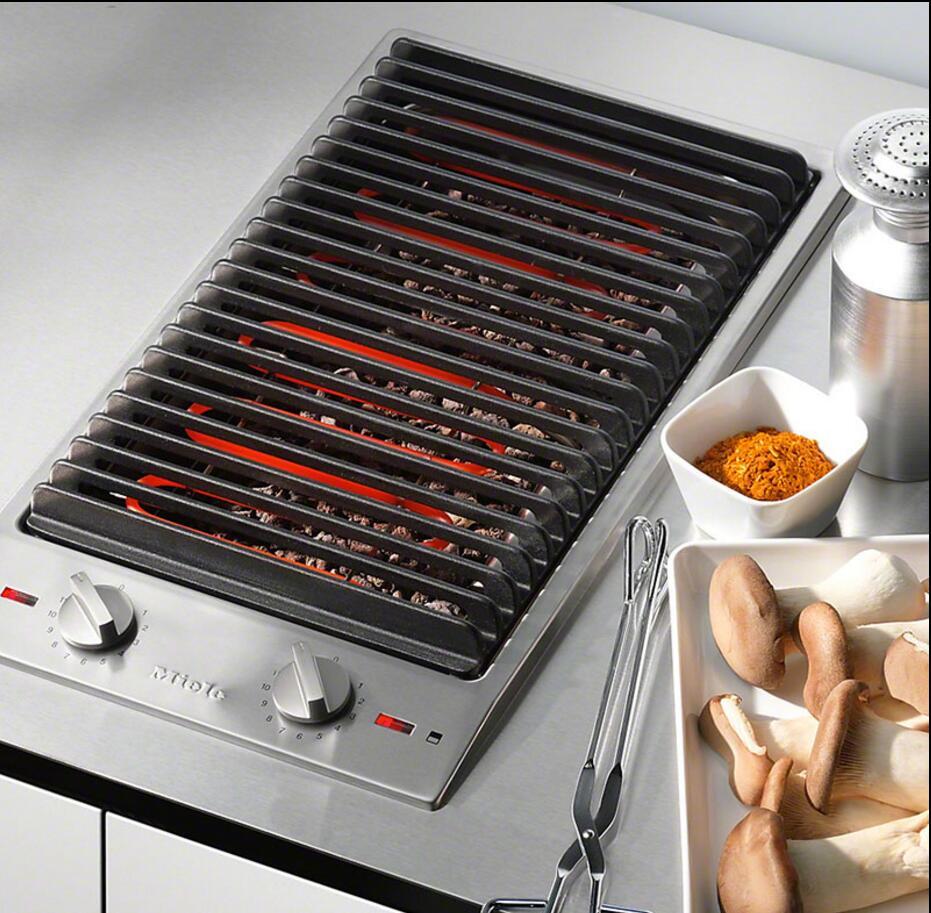 德国 Miele 美诺 CS1322BG CS1327 Y 嵌入式电烧烤架铁板烧电炸锅