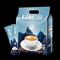 送杯勺 马来西亚进口LIMS蓝山风味速溶咖啡粉网红咖啡三合一40杯