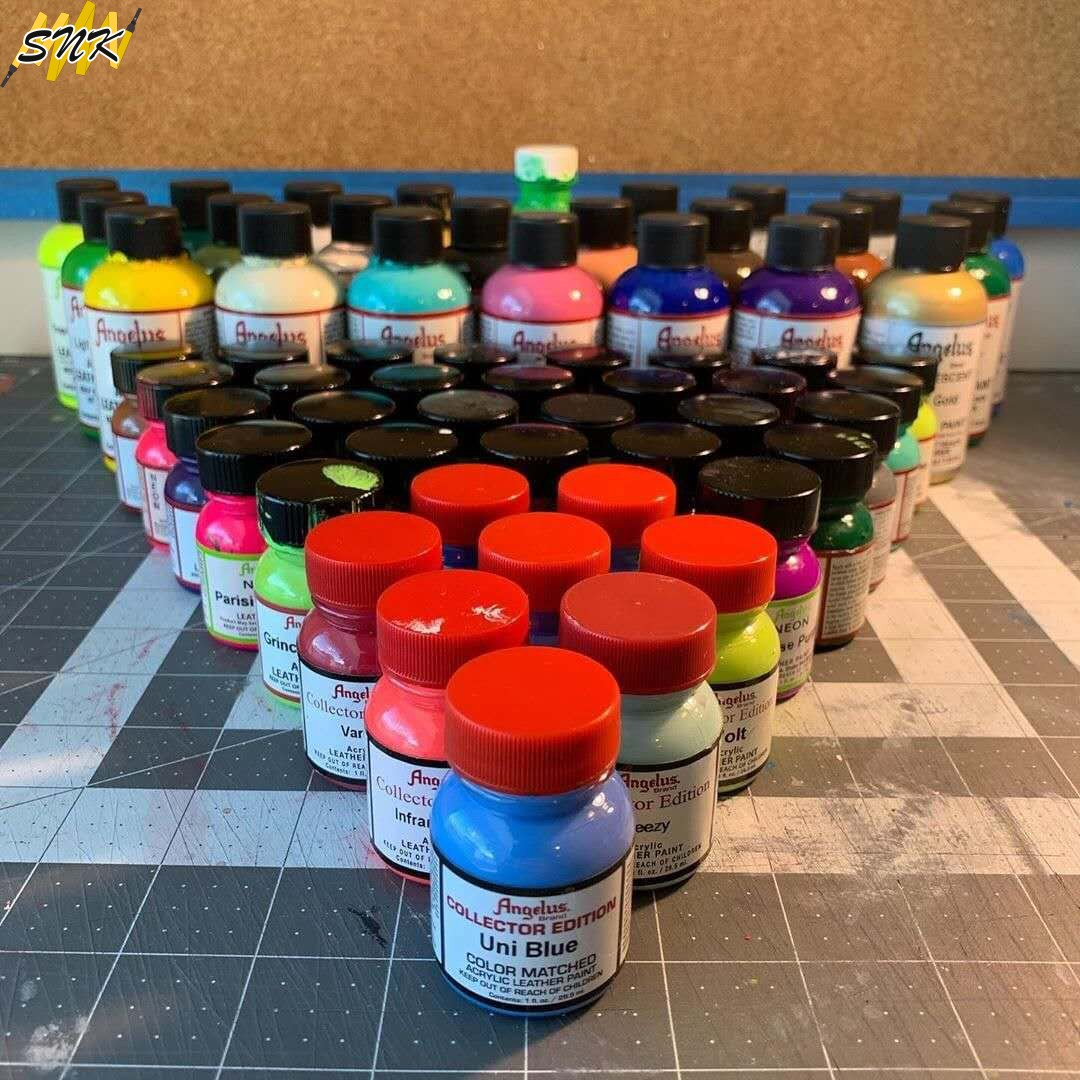 美国进口Angelus皮革颜料球鞋皮鞋皮包DIY手绘涂鸦修复漆安格鲁斯优惠券