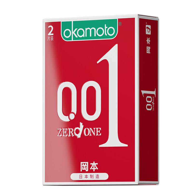 冈本001避孕套超薄0.01罔本情趣日本安全套冈本成人男tt保险