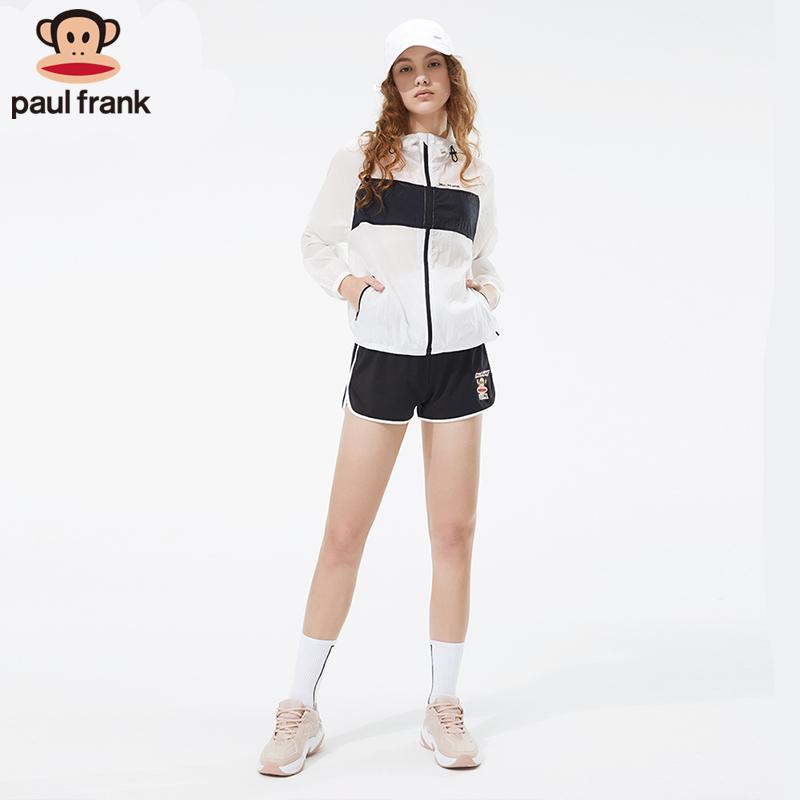 新款超薄宽松速干透气百搭跑步健身服运动外套 2019 大嘴猴防晒衣女