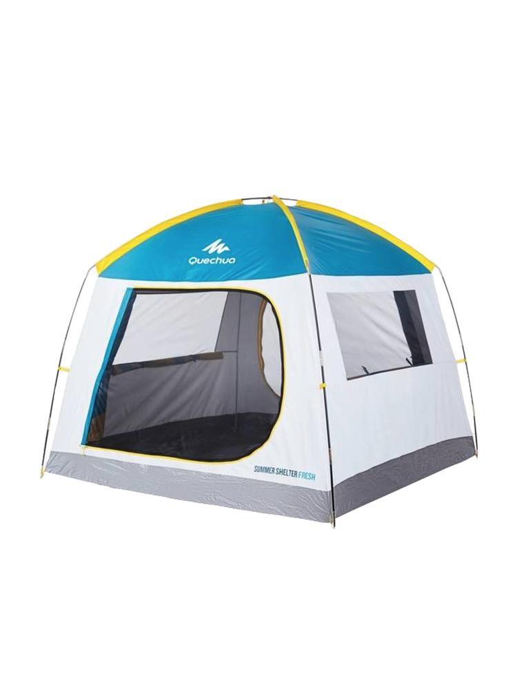 QUNC 人野外加厚露营便携搭建 2 人防雨防晒 4 3 迪卡侬帐篷户外野营
