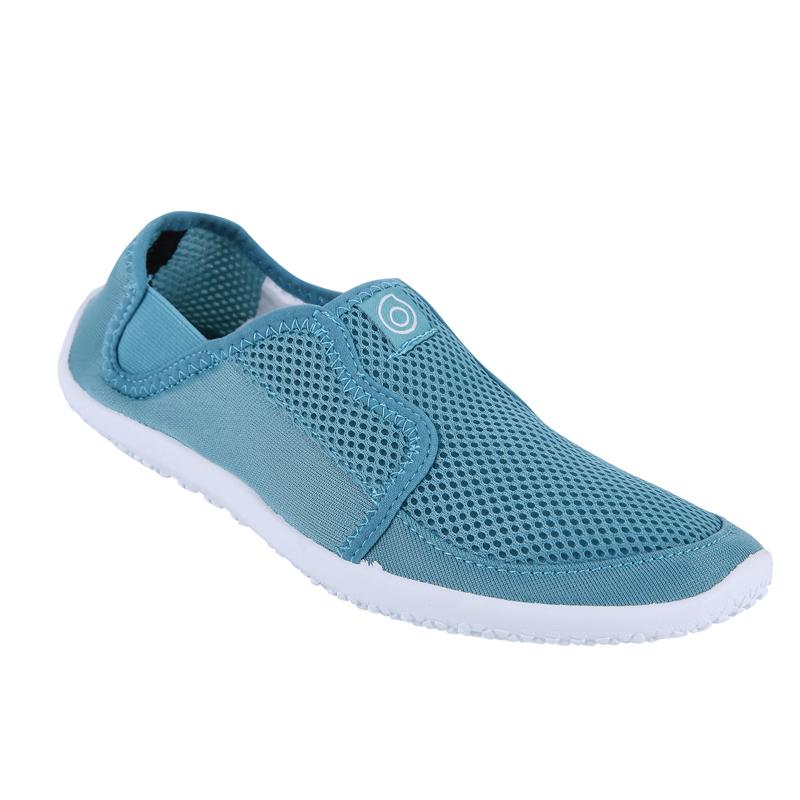 迪卡侬沙滩鞋涉水鞋浮潜鞋溯溪鞋防滑男女游泳软鞋儿童潜水SUBEA