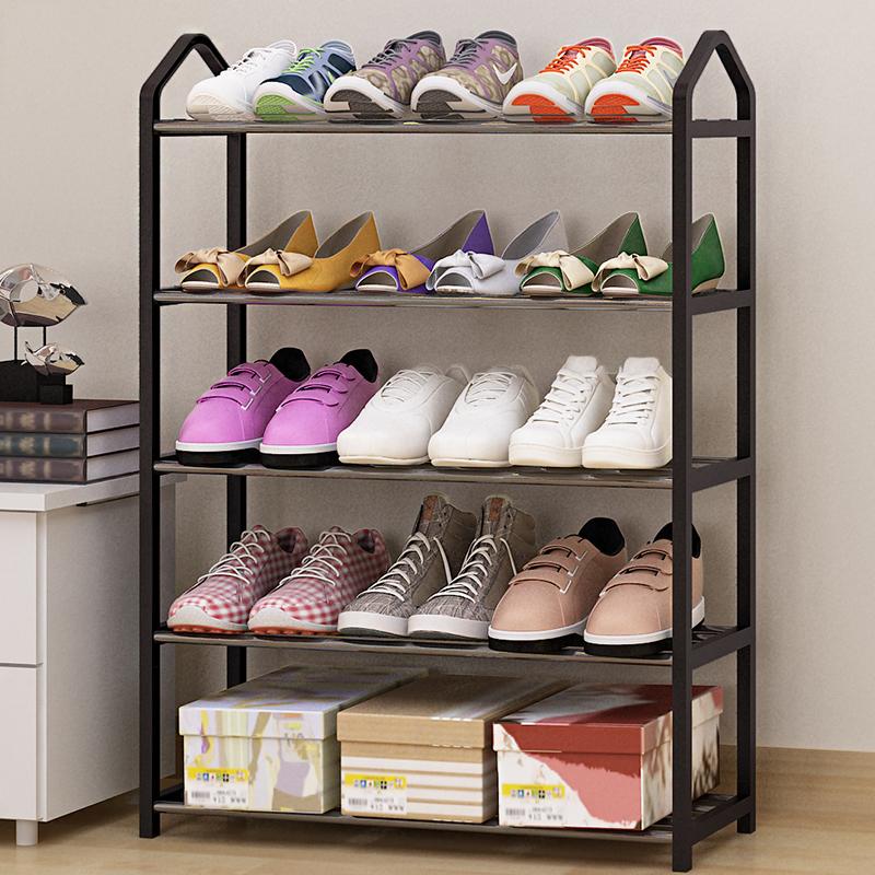简易鞋架家用多层经济型宿舍女门口防尘收纳鞋柜省空间小号鞋架子