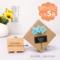 音乐盒木质旋转手摇天空之城迷你八音盒创意儿童男女生日毕业礼物