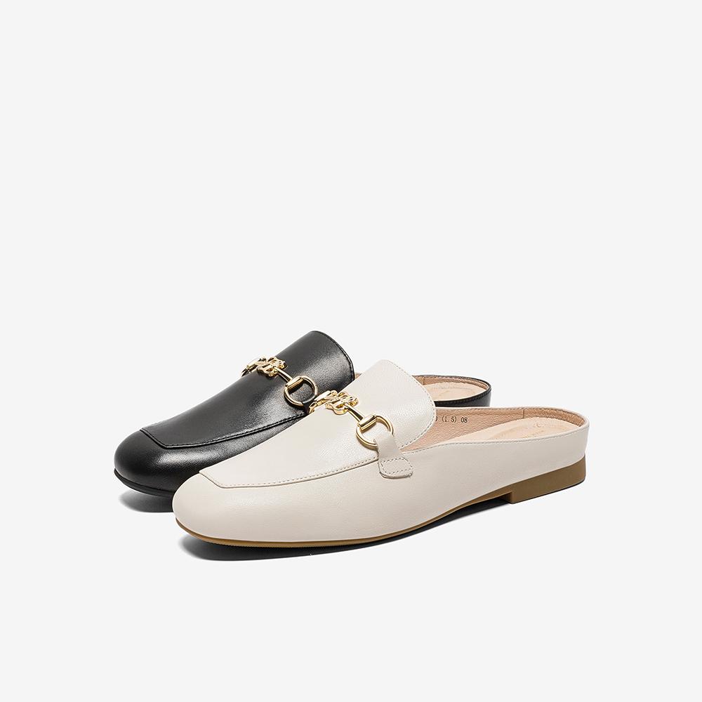 FLC03AH0 专柜同款平底穆勒鞋女凉鞋新款 2020 他她 Tata 薇娅推荐