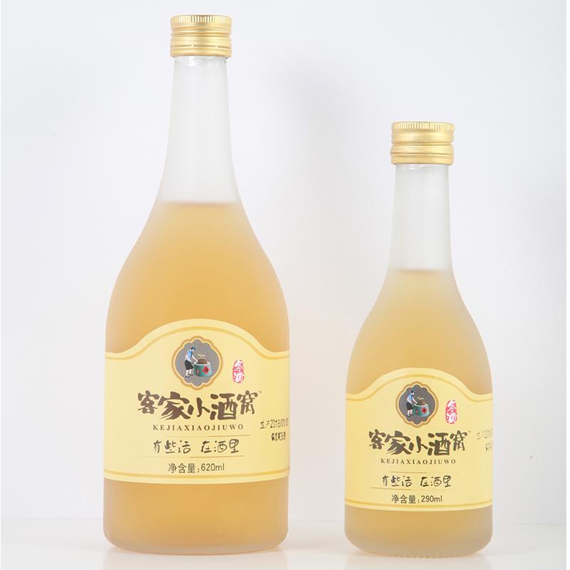 糯米酒客家米酒纯手工自酿 620ml 冬酒 客家小酒窝