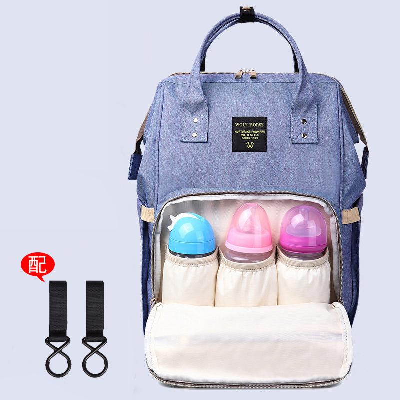 妈妈包母婴包爸爸包多功能大容量双肩包女中学生书包宝妈背包韩版